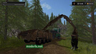 Stryker Crane 133AT/2x для Farming Simulator 2017