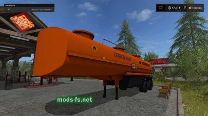 Прицеп для перевозки топлива в Farming Simulator 2017