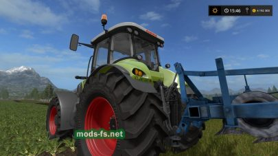 Трактор Claas Axion серии 800