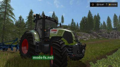 Мод Claas Axion 800