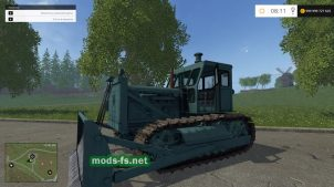 Мод бульдозера для Farming Simulator 2015