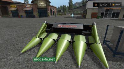 Claas Dominator 88S mods