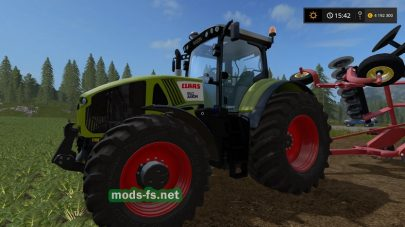 Claas Axion серии 900 для Farming Simulator 2017