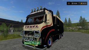 """Conow Volvo Articulated Long"" для Farming Simulator 2017"