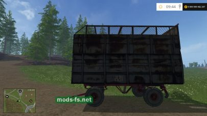 Мод фургона для Farming Simulator 2015