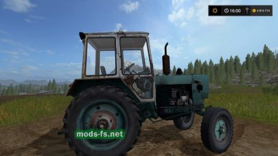 Трактор ЮМЗ для Фермер Симулятор 2017