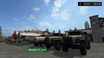 Пак русской техники для Farming Simulator 2017
