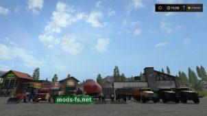 Farming Simulator 2017: пак техники для Dary Kavkaza