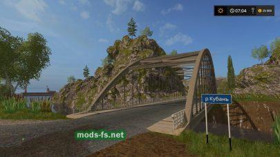 Мост на карте Dary Kavkaza