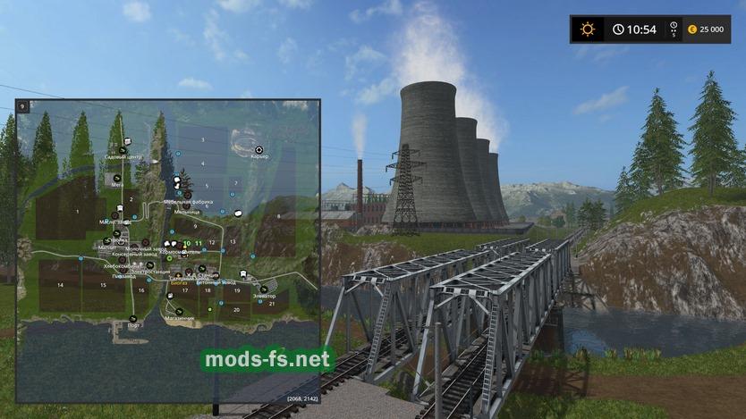 Скачать карту дары кавказа для farming simulator 2017 с модами