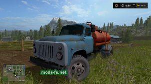 Газ-53 для игры Farming Simulator 2017