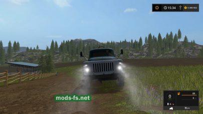Мод грузовика Газ 53 для Farming Simulator 2017