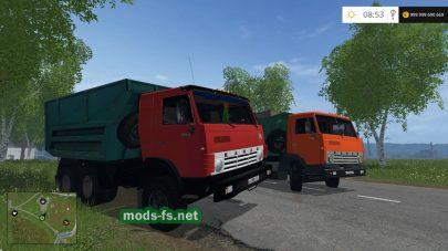 Грузовик КАМАЗ 54102 для FS 2017