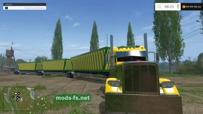 Мод грузовика Peterbilt для Farming Simulator 2015