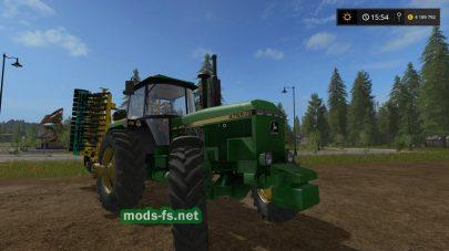 Мод трактора John Deere 4755