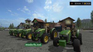 Мод пак тракторов John Deere 5M