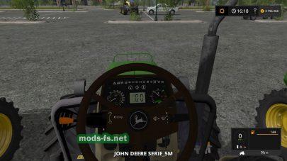John Deere 5M для Farming Simulator 2017