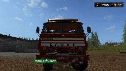 Мод грузовика КамАЗ-5320