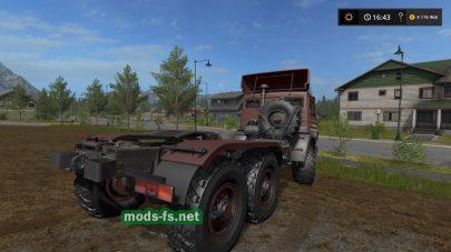Скриншот мода «КамАЗ-5320»