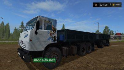 Мод на КамАЗ-5320