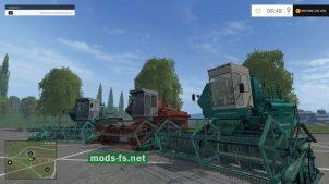 Мод Енисей 1200 для Farming Simulator 2015