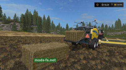 N.rjdobr New Holland для Farming Simulator 2017