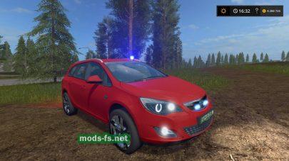Opel Astra Kdow для Farming Simulator 2017