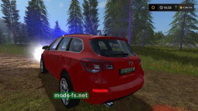 Мод автомобиля Opel Astra Kdow