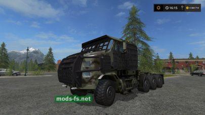 «Oshkosh Slat Armor M 1070 A1» для Farming Simulator 2017