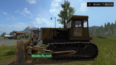 Бульдозер Т-130 для игры FS 2017