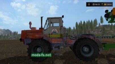 Мод трактора Т-150к «Ихтиандр»