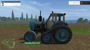 Мод гусеничного трактора ЮМЗ-6 для FS 2015