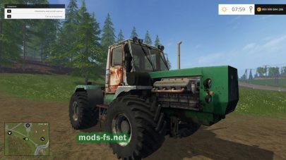 Мод «Т-150К V8»