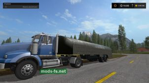 Топливозаправщик для Farming Simulator 2017