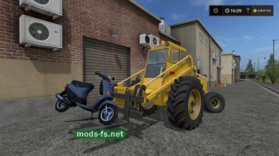 Фронтальный погрузчик для Farming Simulator 2017