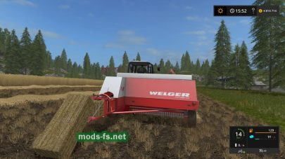 Welger AP 730 для Farming Simulator 2017