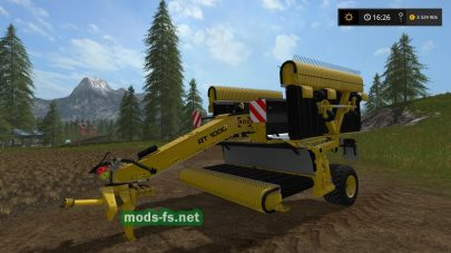 Мод ROC RT 1000 для Farming Simulator 2017