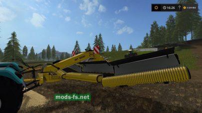 Скриншот мода жатки ROC RT 1000
