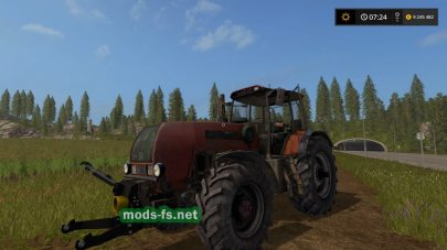 МТЗ 2522ДВ для Farming Simulator 2017
