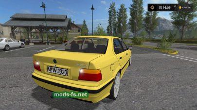 Скриншот мода BMW 320I E36