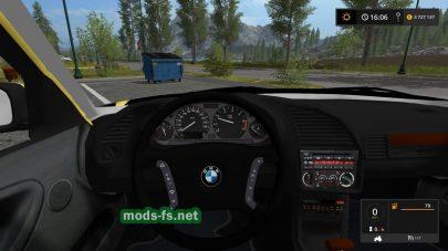 Легковой автомобиль BMW 320I E36 для FS 2017