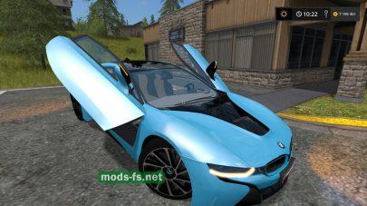 Автомобиль BMW I8 для FS 2017