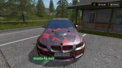 BMW M3 DE GMK для Farming Simulator 2017