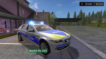 Мод автомобиля BMW 530 Police