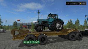прицеп-тяжеловоз для Farming Simulator 2017