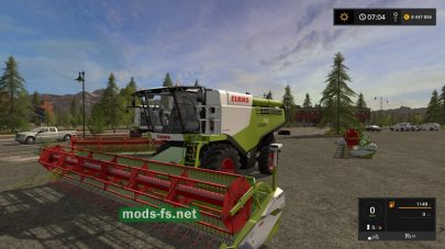 Claas Lexion 700 STAGE IV