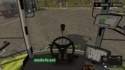 Комбайн Claas Lexion для Farming Simulator 2017