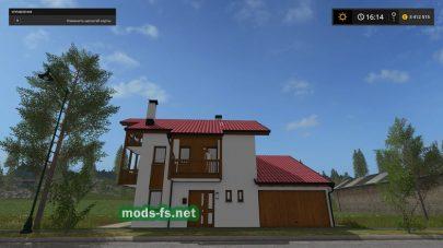 Мод на дом для Farming Simulator 2017