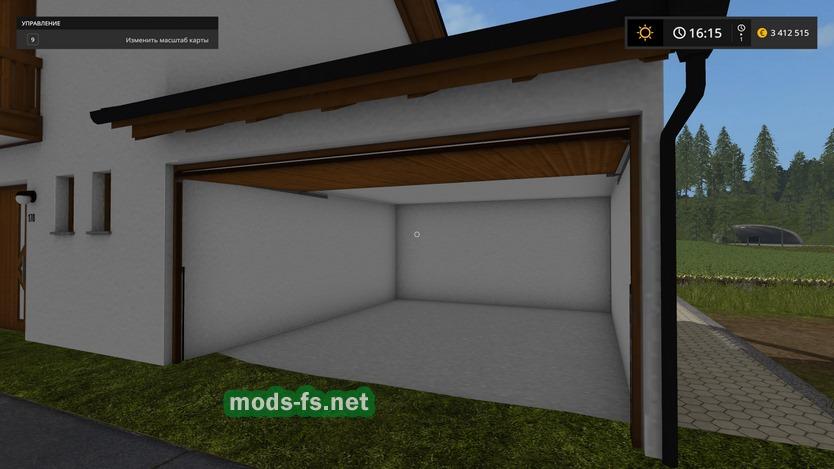Farming Simulator 17 дом с гаражом файлы патч демо Demo