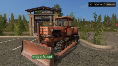 Гусеничный бульдозер ДТ-75Н для FS 2017